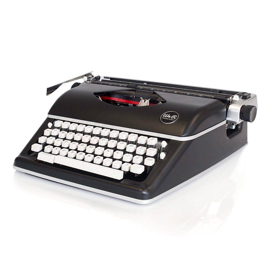 Máquina de escribir We R Memory Keepers con teclado blanco comprar mejores ofertas precio 2018 antigua
