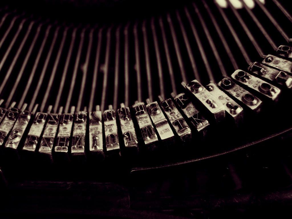 Tipos de máquina de escribir mecánica