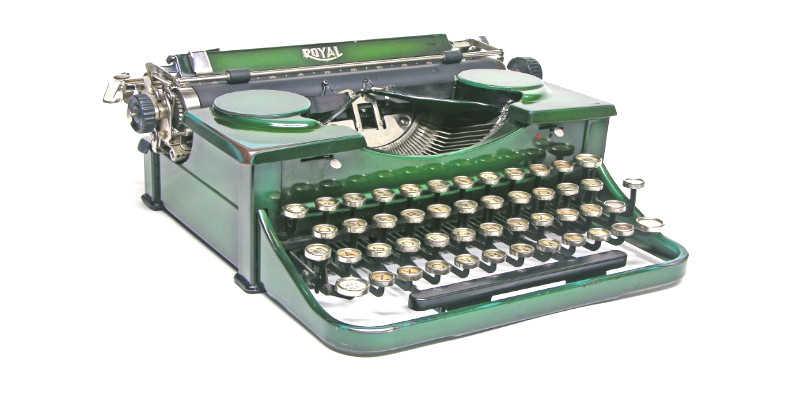 Máquinas de escribir Royal